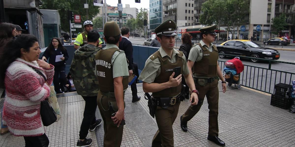 Sujeto logra evadir la acción de Carabineros tras intentar asaltar un banco en Independencia