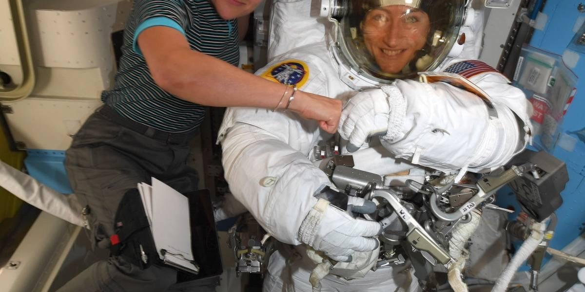 La NASA se prepara para dar inicio a la primera caminata espacial de mujeres de la historia