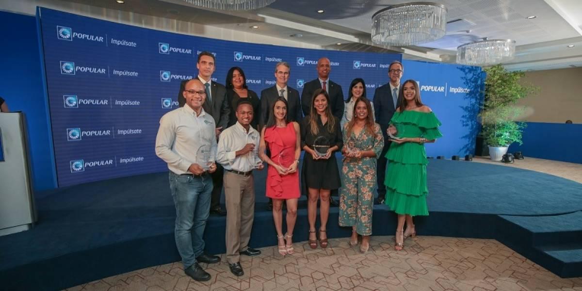 El Banco Popular premia y apoya emprendimientos