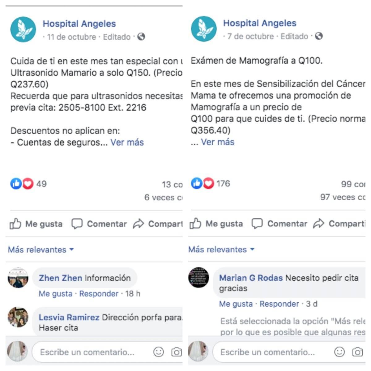 Precio de mamografia en aprofam guatemala
