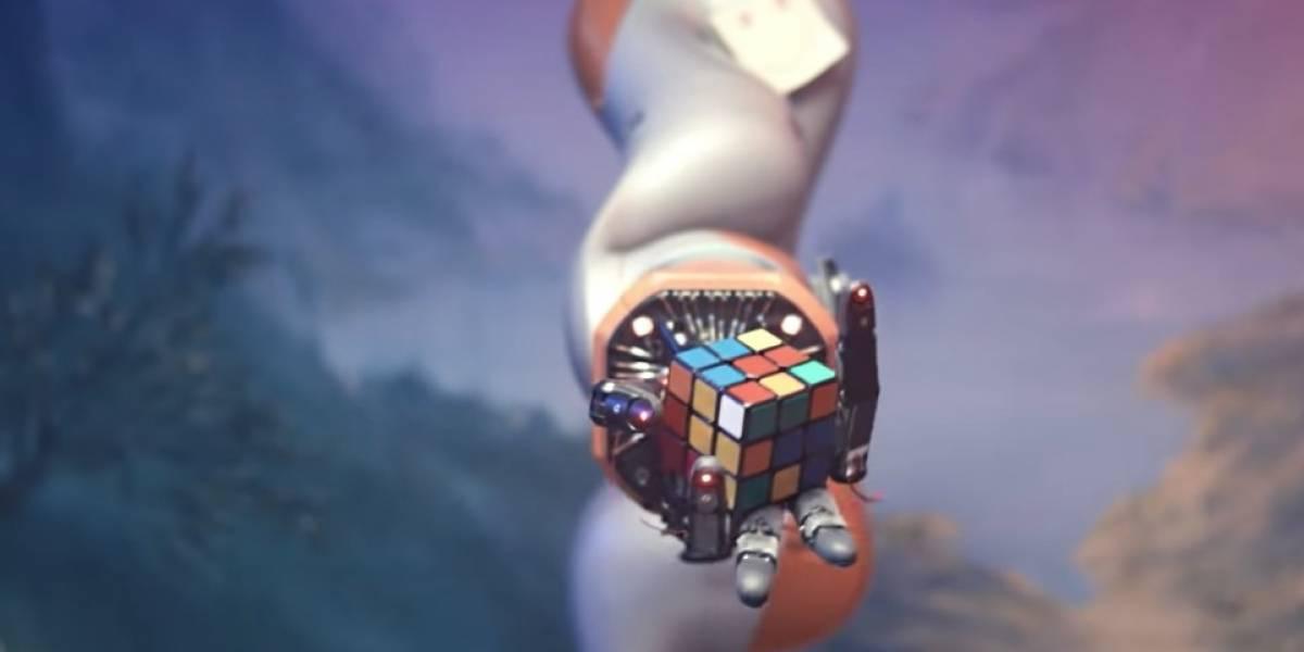 ¿Una mano va a dominar el mundo? robot aprendió sin ayuda a resolver un cubo Rubik