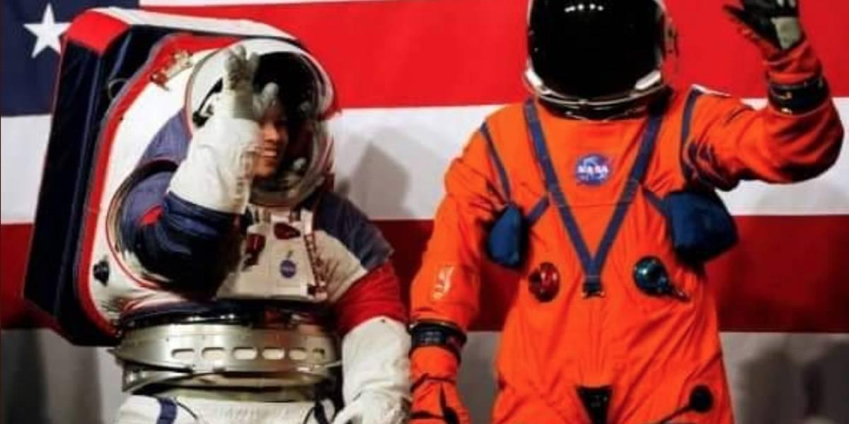 Los nuevos trajes espaciales de la NASA para volver a la Luna