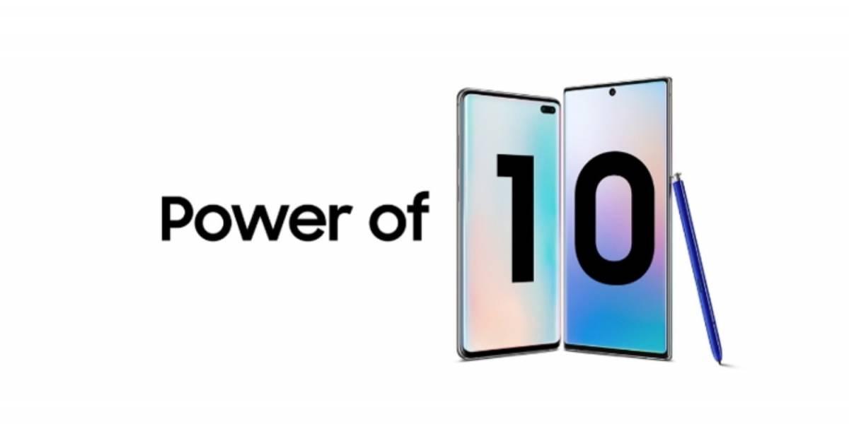 Power of 10: Samsung une Galaxy S10 e Galaxy Note10 em nova campanha