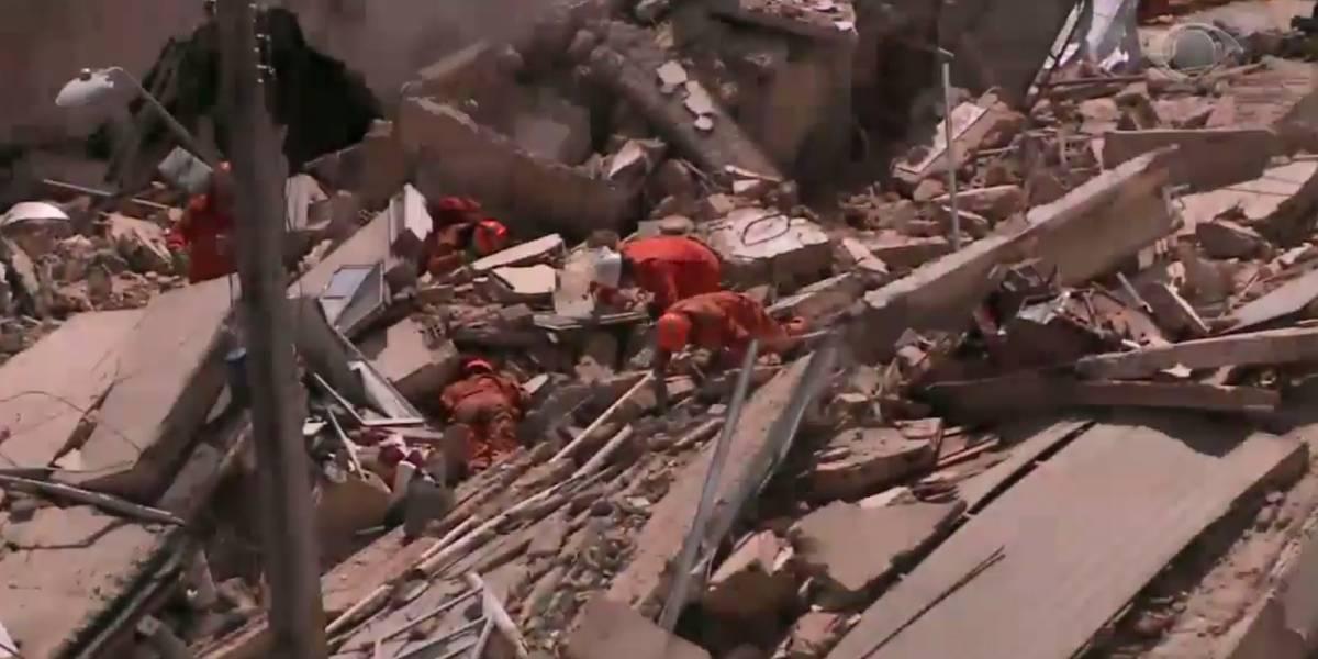 Desabamento de prédio em Fortaleza tem duas mortes confirmadas; nove pessoas seguem desaparecidas