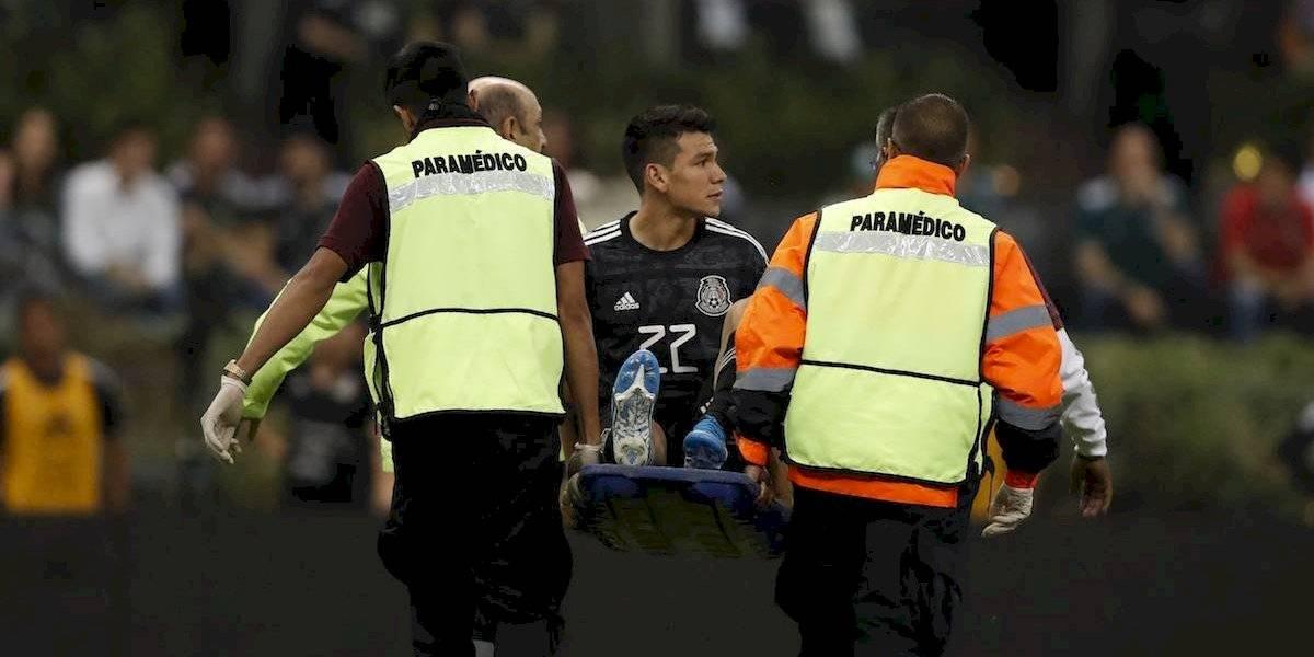 'Chucky' Lozano enciende las alarmas hasta Napoli tras salir lesionado