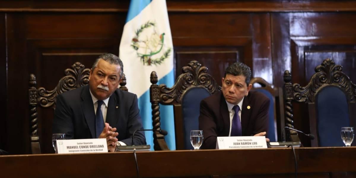 """""""Comisión de la verdad"""" que fiscaliza a CICIG prepara informe de resultados"""