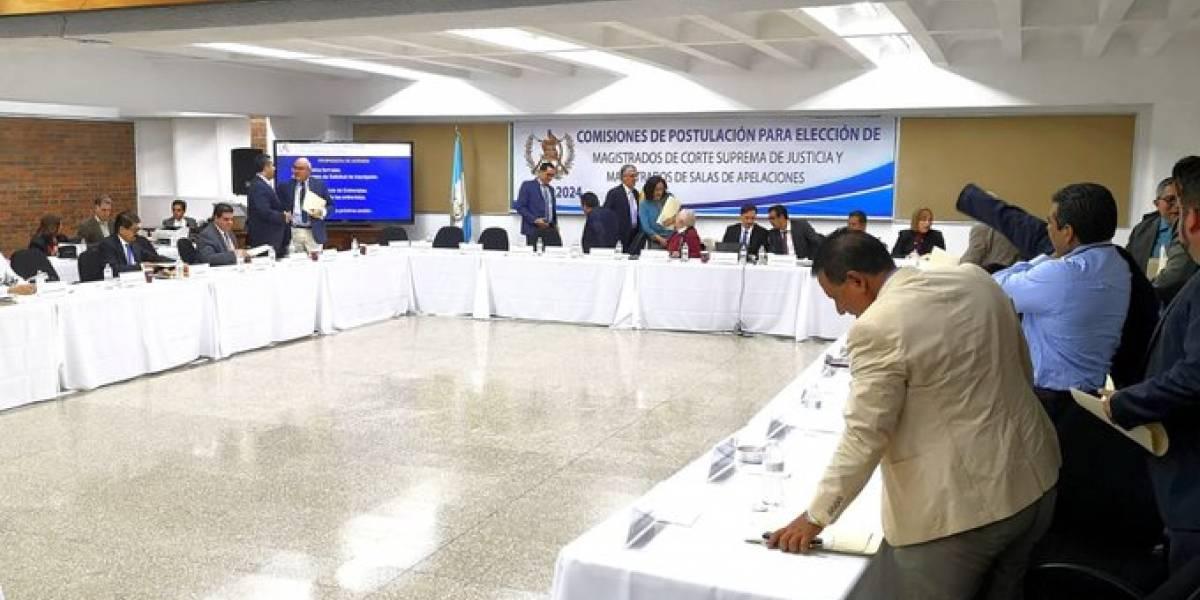 Comisión de Postulación de la CSJ esperará para elaborar el perfil de candidatos