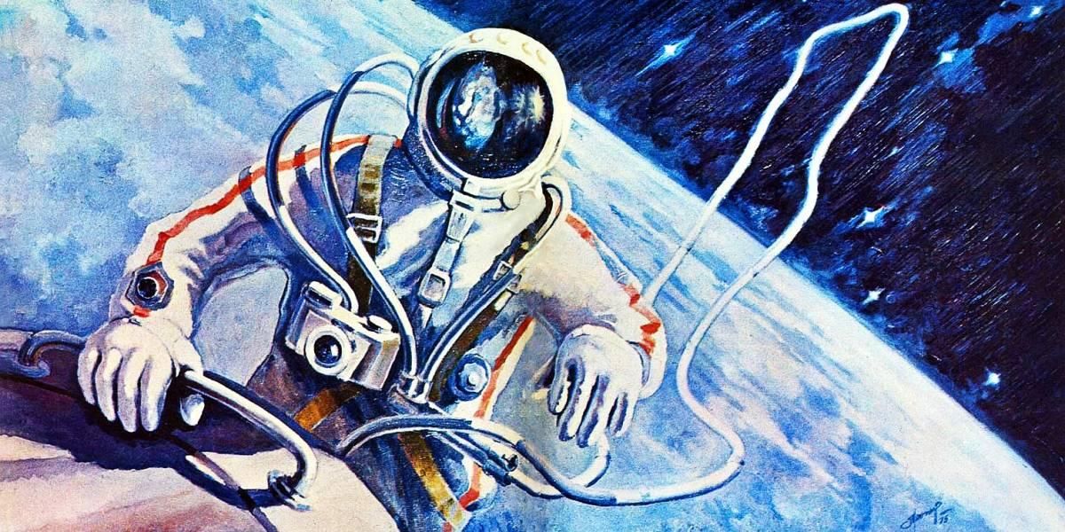 Los deslumbrantes paisajes del universo que dibujó el primer caminante del espacio