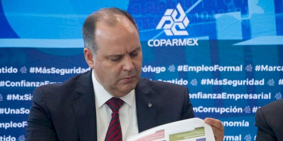 No somos sector de ningún partido político, responde Coparmex a AMLO