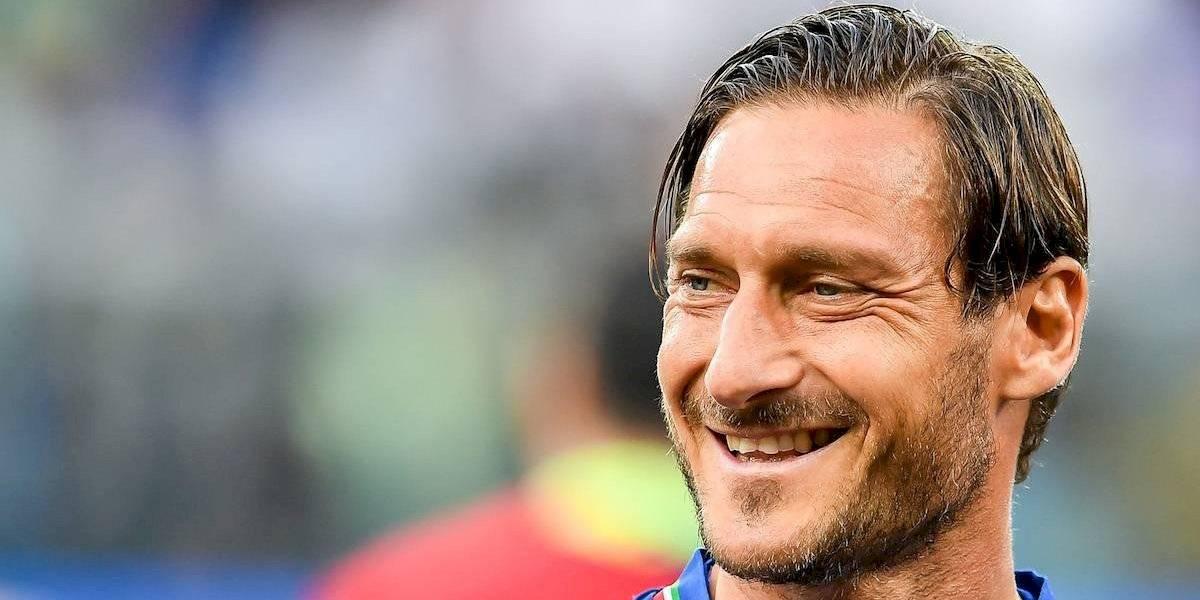 Totti podría jugar un Mundial más en su carrera