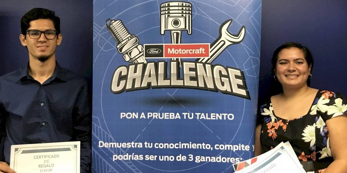 Ford Motorcraft anuncia ganadores competencia para estudiantes de mecánica automotriz