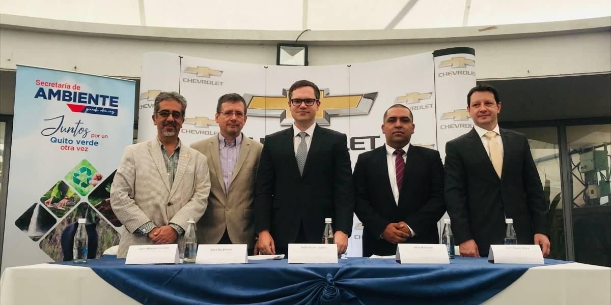 GM OBB del Ecuador es pionera en la reposición de su huella hídrica