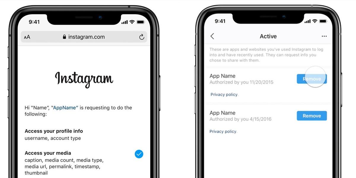 Instagram ya te regresa tu privacidad para decidir qué apps de terceros miran tus datos