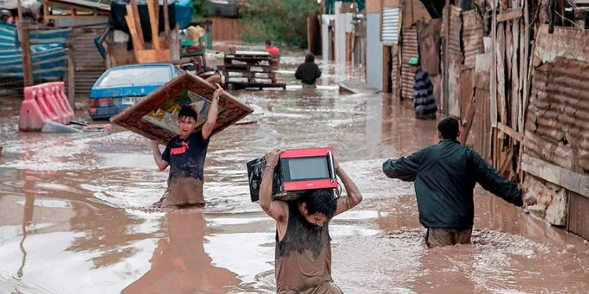 Donaciones para damnificados por lluvias en el país nunca fueron entregadas