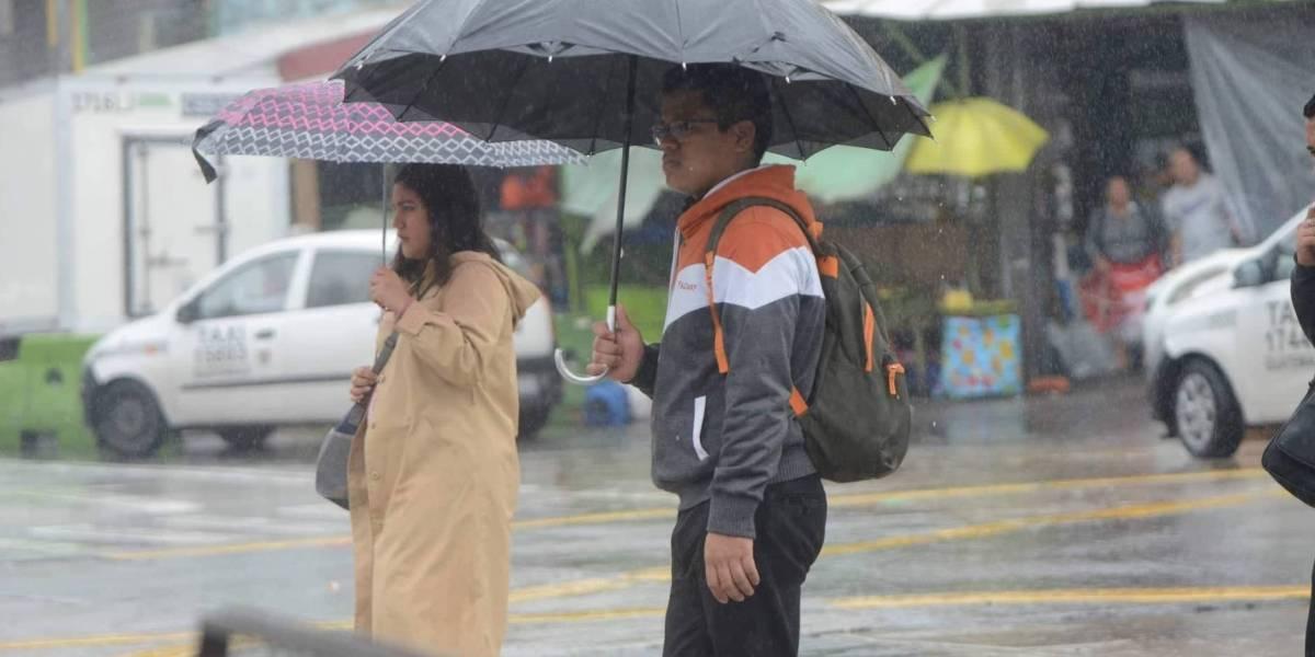 Pronostican lluvia para el fin de semana