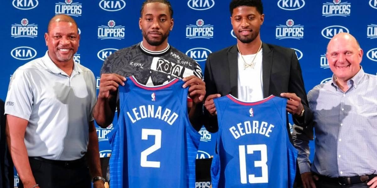 Leonard y George le dan un enorme impulso a los Clippers