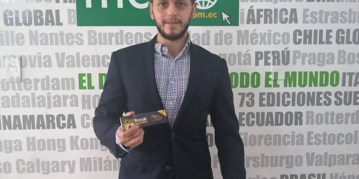 Outbreak, la barra para deportistas hecha en Ecuador
