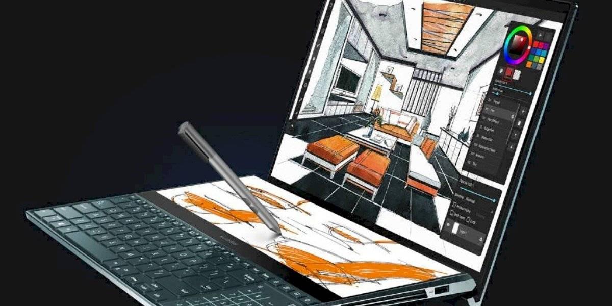 Asus lanza en Chile el ZenBook Pro Duo, su portátil con pantalla doble