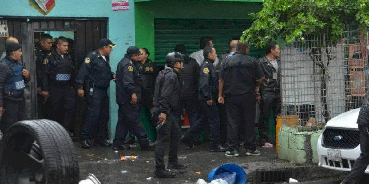 Balacera en la colonia Doctores deja dos policías muertos