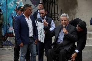 Gobierno Ecuador abre línea de crédito para comercios afectados por protestas