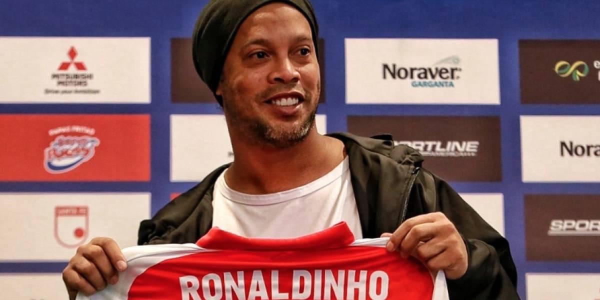 Santa Fe vs. Nacional: la despedida de Ronaldinho será por lo alto en El Campín