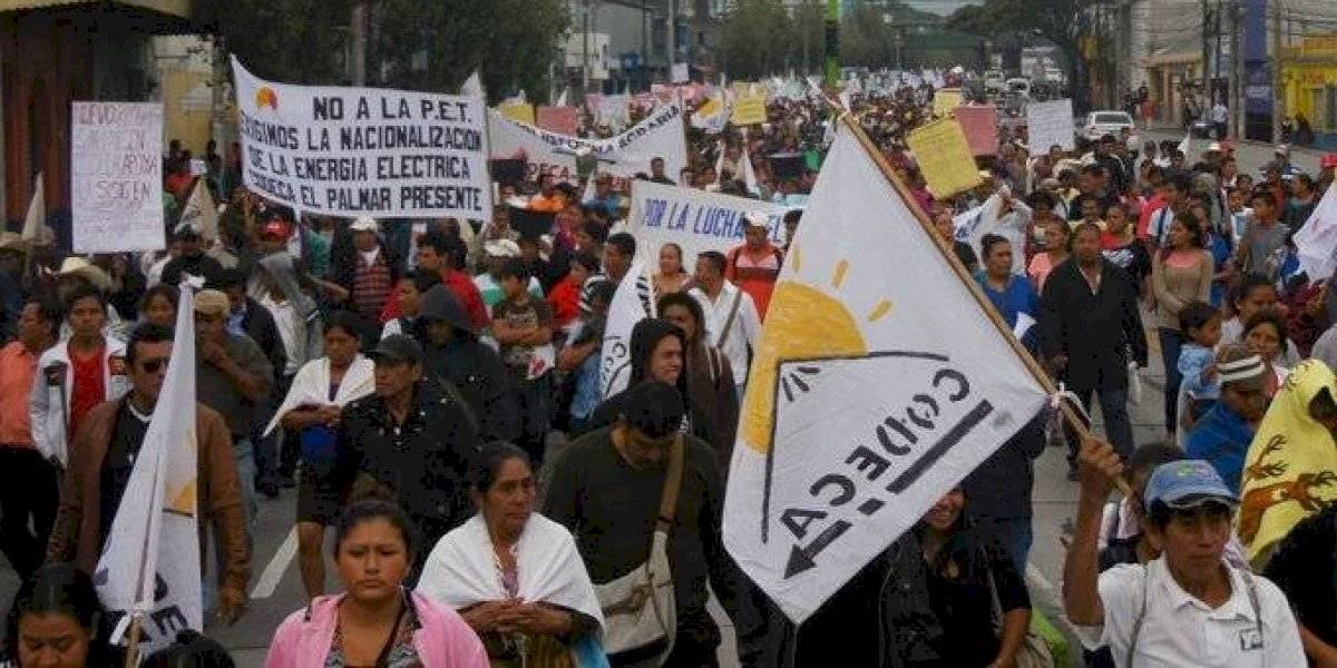 Codeca realiza movilizaciones a nivel nacional en rechazo al estado de Sitio