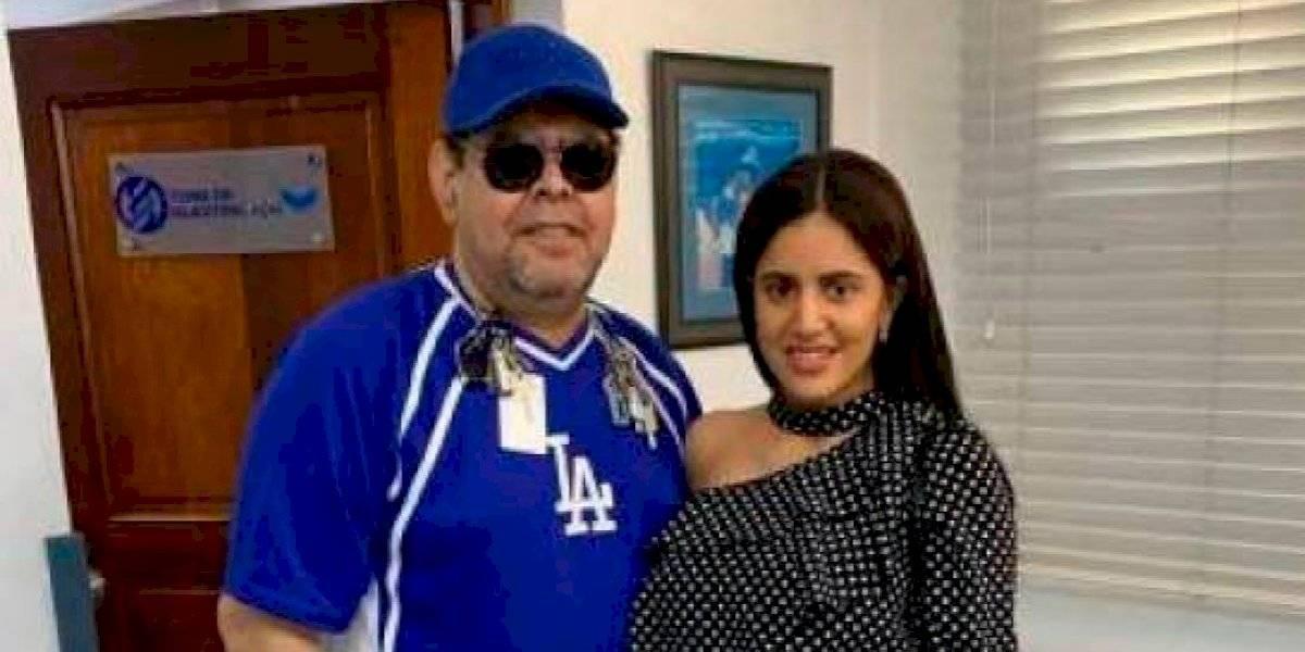 Fernando Villalona se repite segunda prueba de ADN a petición de joven que dice ser su hija