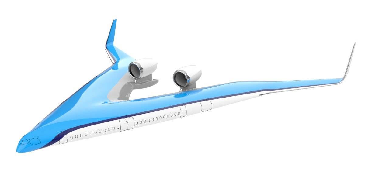 El futuro de la aviación se alista en forma de V
