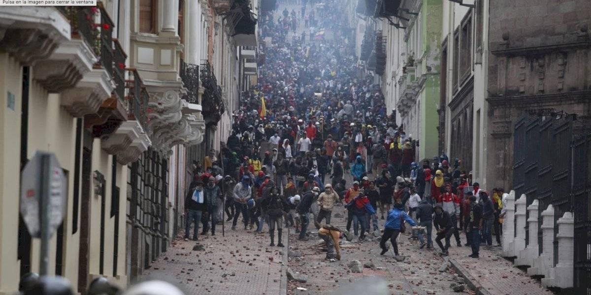 Gobierno de Maduro niega estar detrás de protestas en Ecuador