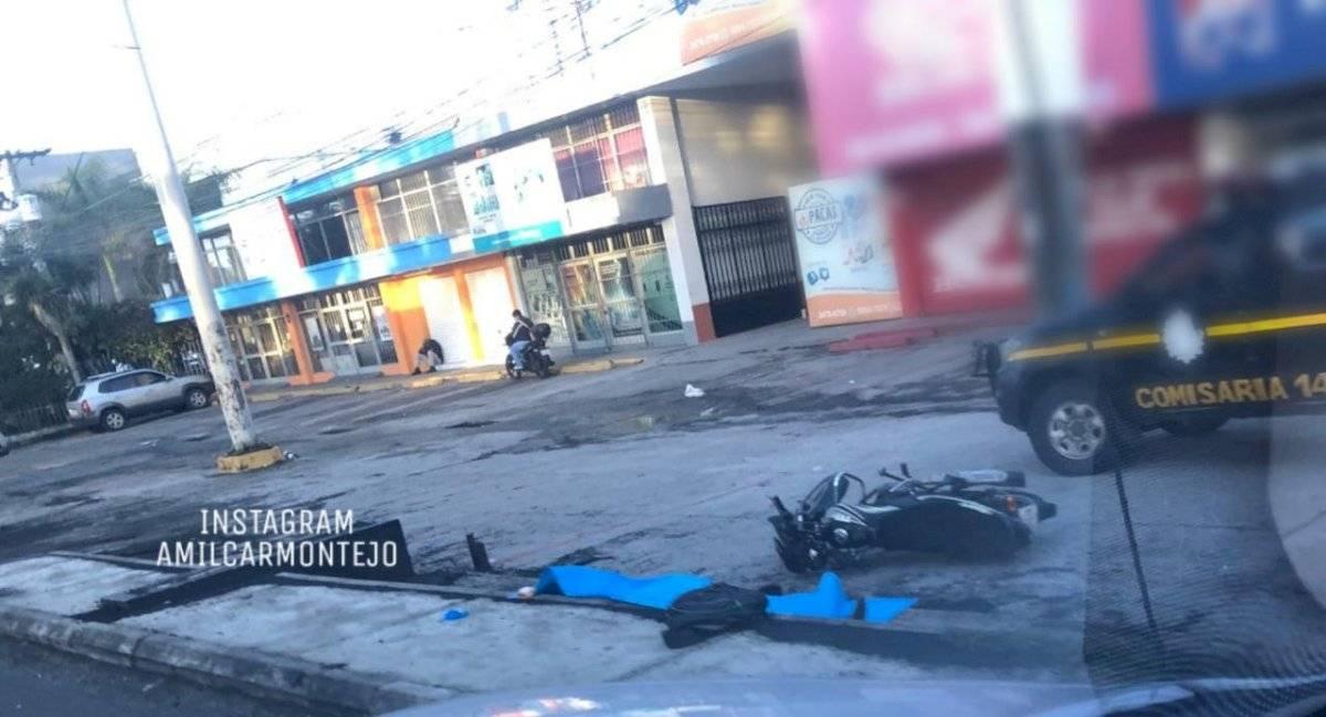 motorista muere por accidente en zona 11