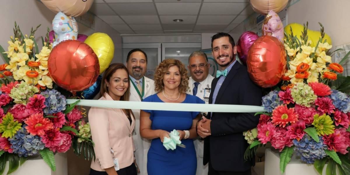 Fundación Hospital Pediátrico reinaugura sala NICU Sur