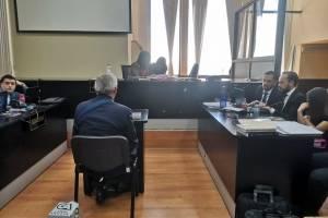 Expresidente Otto Pérez declara ante la jueza Erika Aifán.