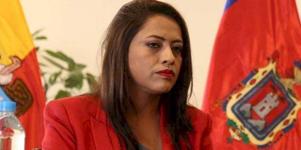 Paola Pabón fue ingresada en Centro de Rehabilitación Social de Cotopaxi