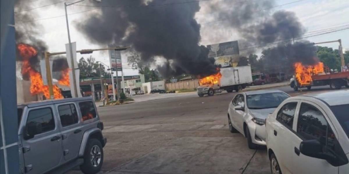 Presunta captura de hijo del Chapo Guzmán desata terror en Sinaloa, México