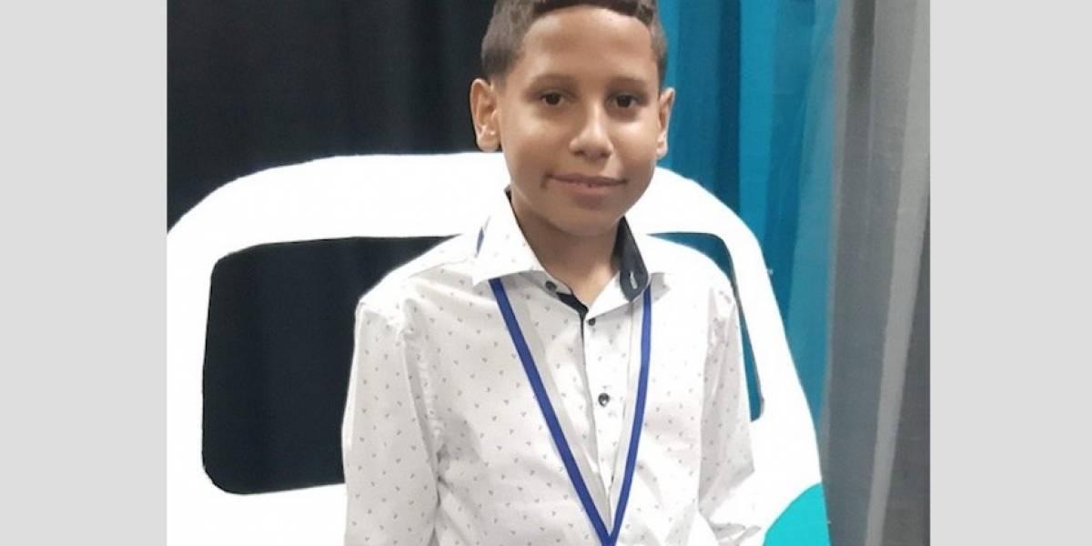 Niño puertorriqueño es reconocido a nivel nacional por su arte