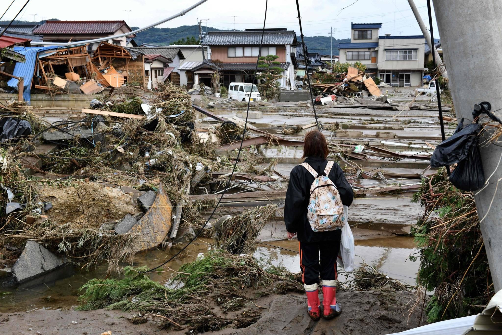 Grave: Tifón Hagibis derramó contenido nuclear de Fukushima en río de Japón