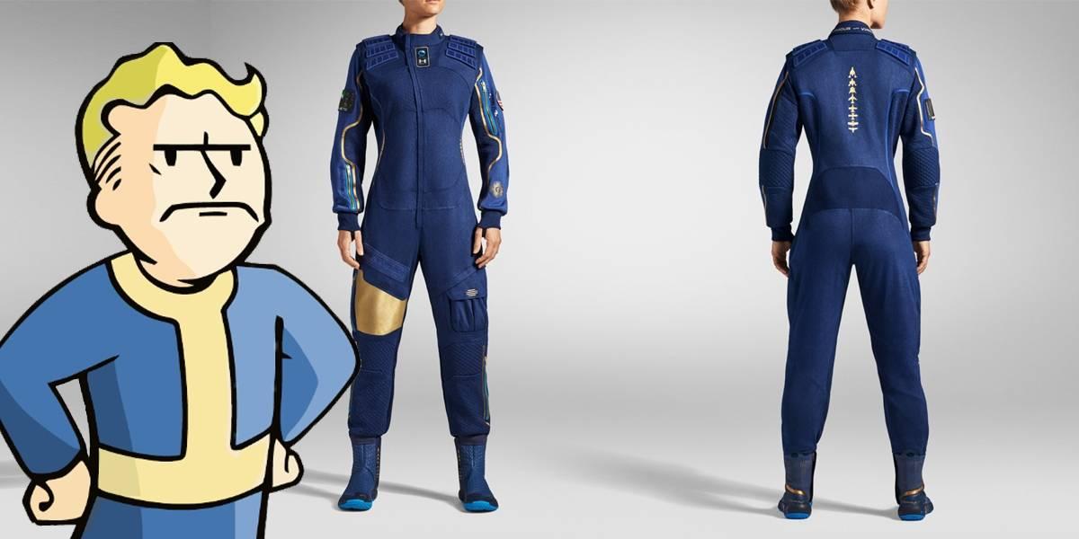 Los trajes espaciales de Under Armour para Virgin Galactic parecen sacados de Fallout
