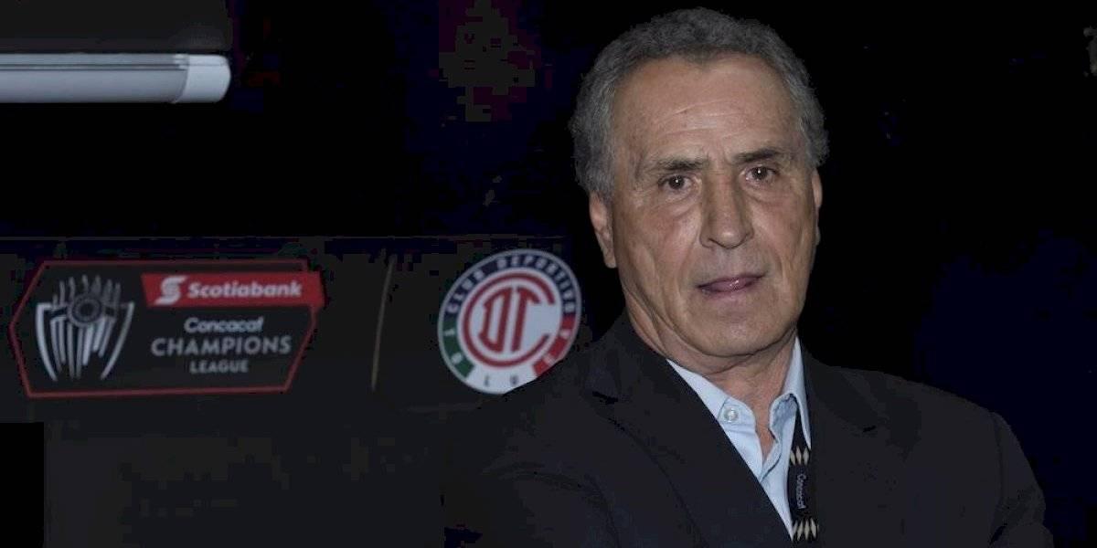Toluca anuncia la salida de José Luis Real y Héctor Real