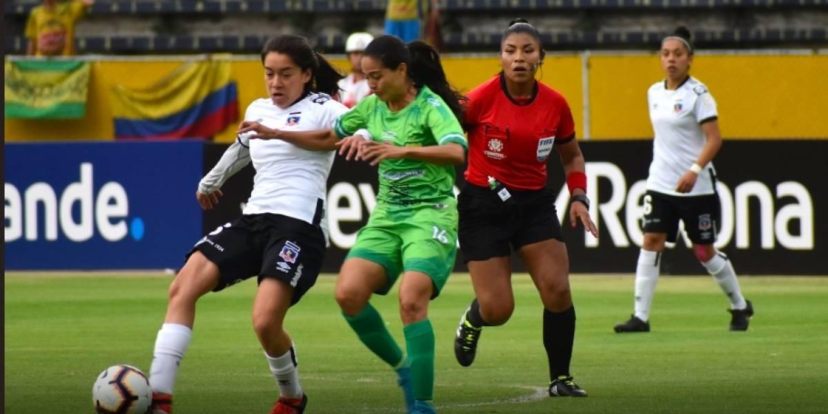 Colo Colo sufrió una dolorosa caída frente al Atlético Huila y quedó eliminado de la Copa Libertadores Femenina