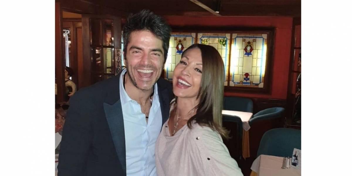 Reviven rumores de una relación entre Amparo Grisales y Ernesto Calzadilla por cuenta de una foto