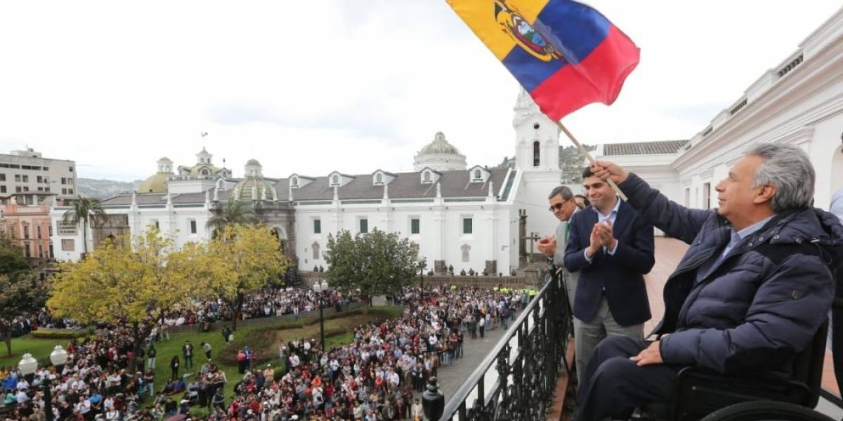 Lenín Moreno no dialogará con el FUT si hay una movilización prevista