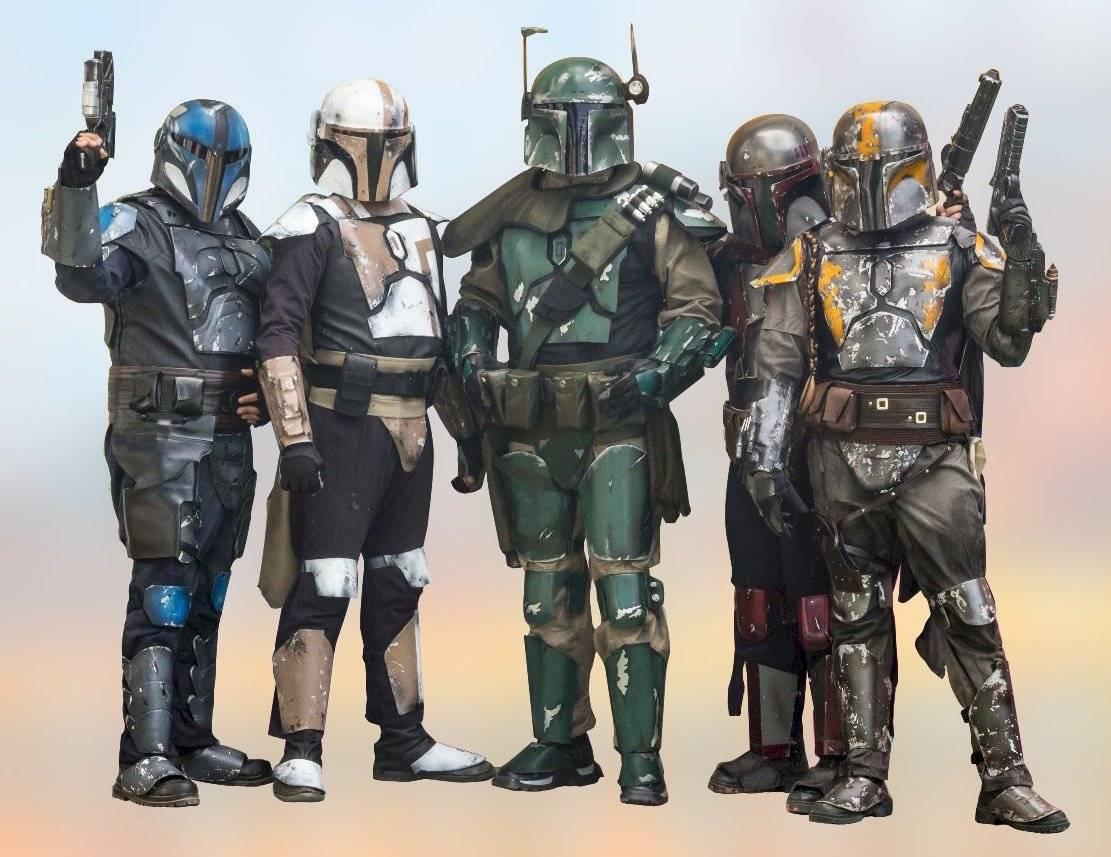 """Jóvenes se unen en el """"Death Watch Clan"""" gracias a su afición por Star Wars"""