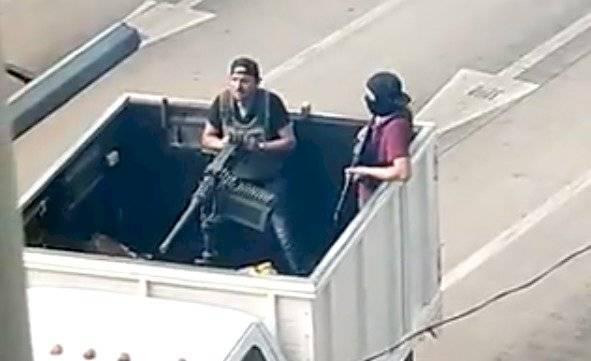 La ametralladora que usaron sicarios del Cartel de Sinaloa contra las autoridades