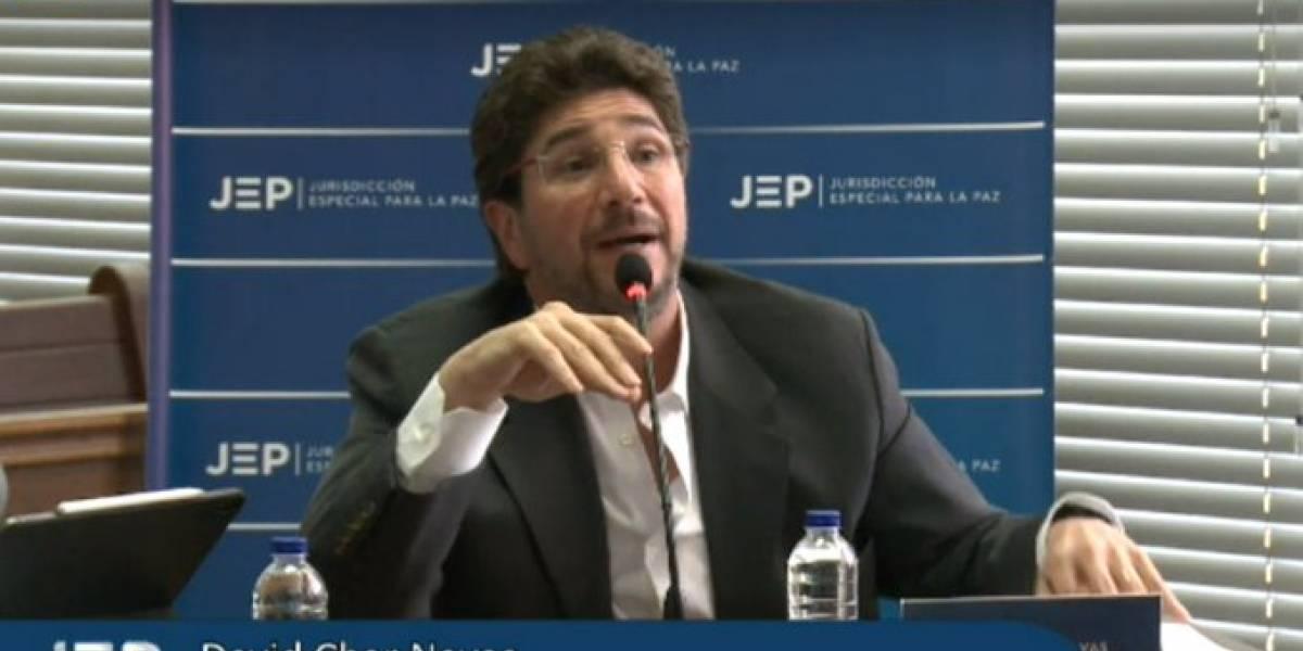 Exsenador David Char enlodó a importantes políticos con los paras en declaraciones a la JEP