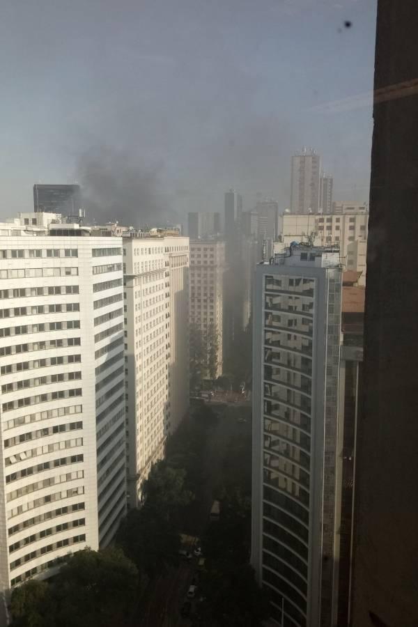 Incêndio no Centro do Rio
