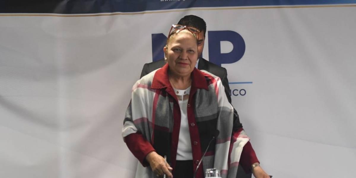 MP pide retirar el antejuicio a la fiscal general María Consuelo Porras