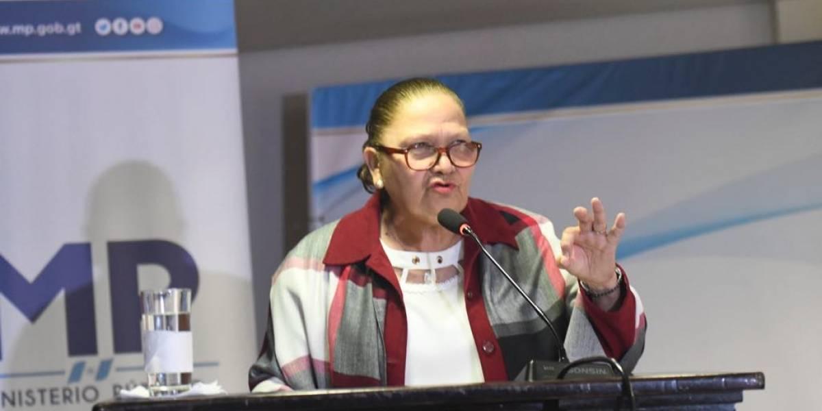 Fiscal general Consuelo Porras saluda a todas las madres