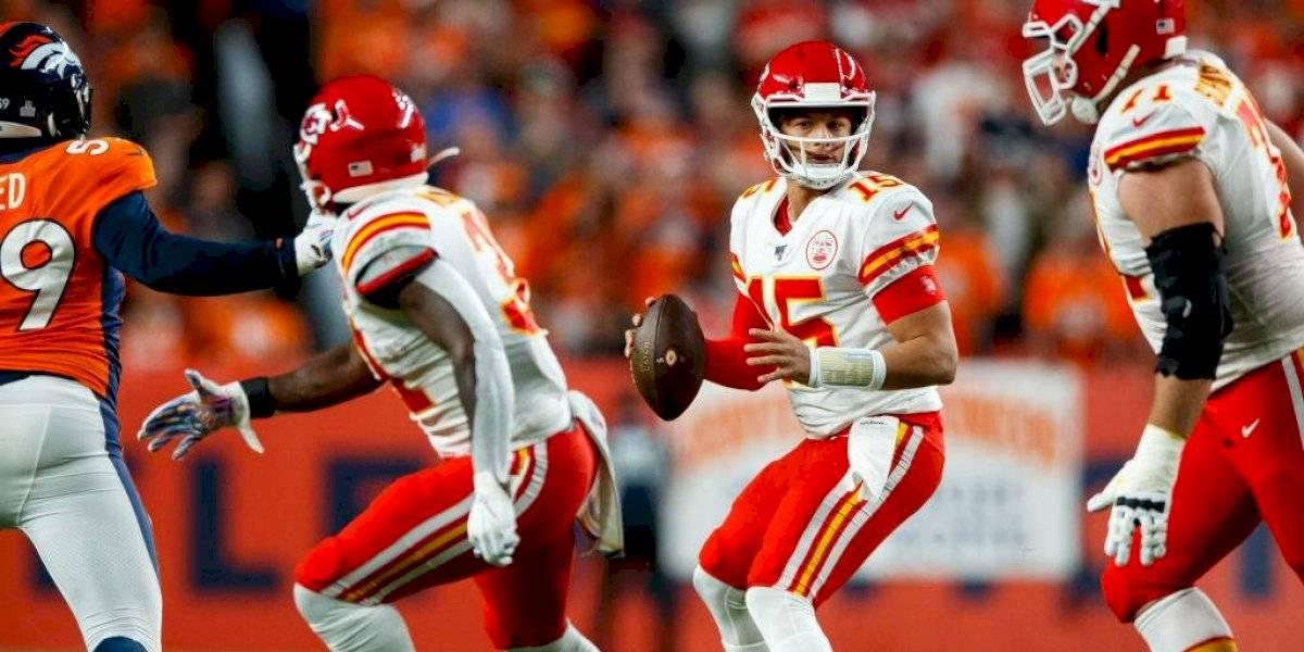 Chiefs vence a Broncos pero pierde a Patrick Mahomes