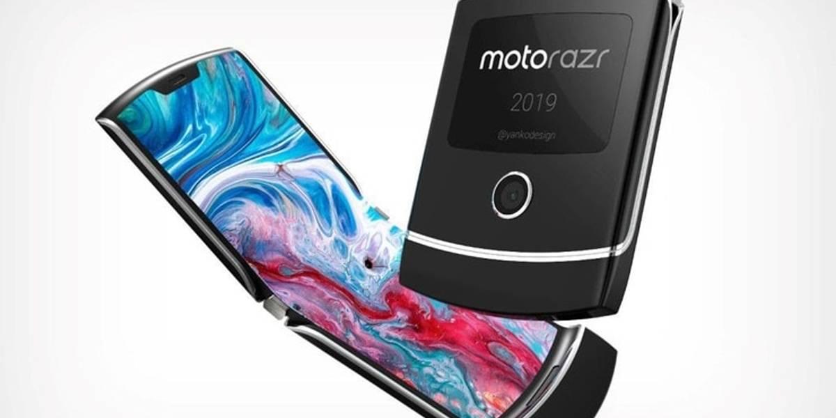 ¿Vuelve un clásico? el Moto Razr 2019 con pantalla plegable estaría por presentarse