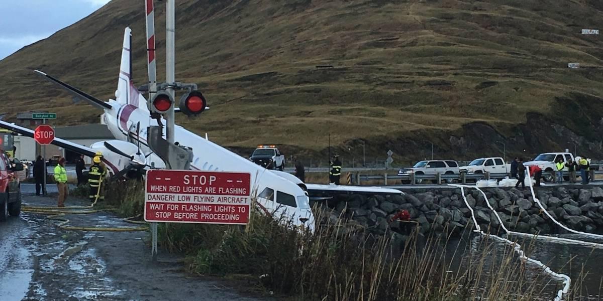 Muere una persona al despistarse avión en Alaska